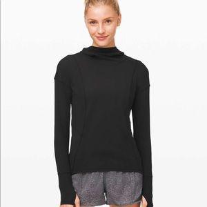 Lululemon ready to rulu hoodie maroon size 12